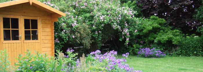 Baugenehmigung für Gartenhäuser